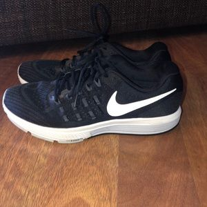 Nike Shoes - Nike Zoom Black and White Running Shoes
